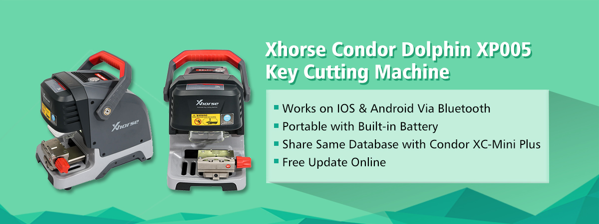 Xhorse Condor Dolphin XP005 Automatic Key Cutting Machine