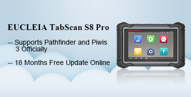 EUCLEIA TabScan S8 Pro Automotive Intelligent Dual-mode Diagnostic