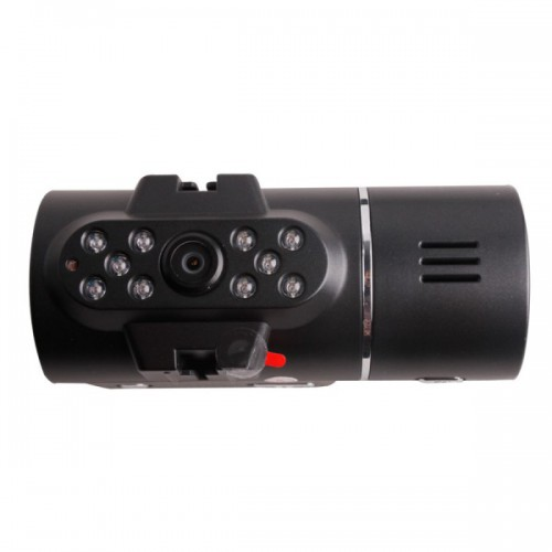 HD 720P New Dual Lens Dashboard Car Cam Vehicle Camera Video Recorder DVR
