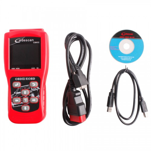 CS602 Color Screen Codescan OBDII EOBD Scanner