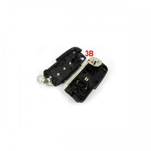 Modified Remote Key Shell 3 Button for Porsche Cayenne