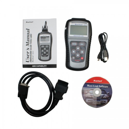 Autel MaxiScan MS609 OBDII/EOBD Scan Tool Diagnosis for ABS Codes