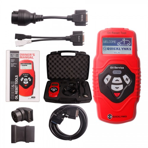 Oil Service and Airbag reset Tool OT900 (Multilingual Updatable)