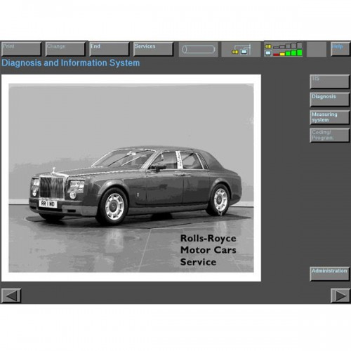 Rolls Royce 200301-200901 Software T30 HDD