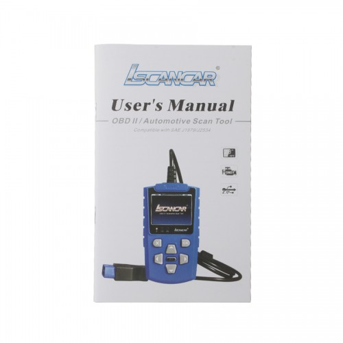 IScancar OBDII EOBD Cars Trouble Codes Scanner