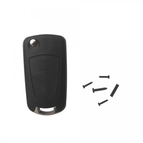Modified Flip Remote Key Shell 2 Button (YM28) for Opel 5pcs/lot