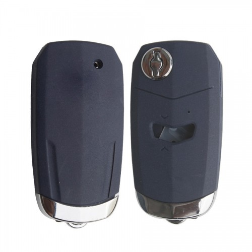 Flip Remote Key Shell 1 Button Blue Color Flat Slotting for Fiat 5pcs/lot