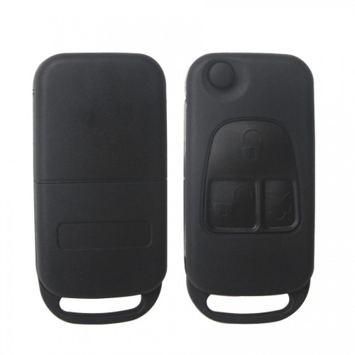 Remote Key Shell 3 Button for Benz 5pcs/lot