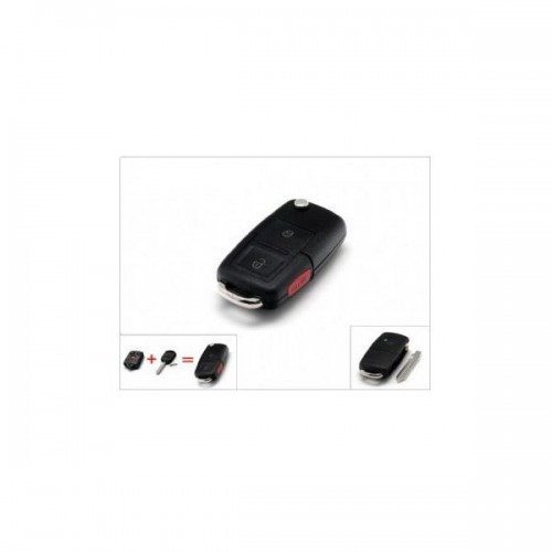 Remote 2+1 Button Key Shell for Ford
