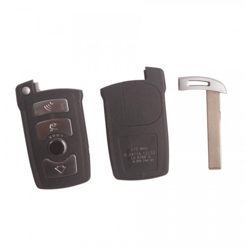 New 7 Series Smart Key Shell 4 Button for BMW