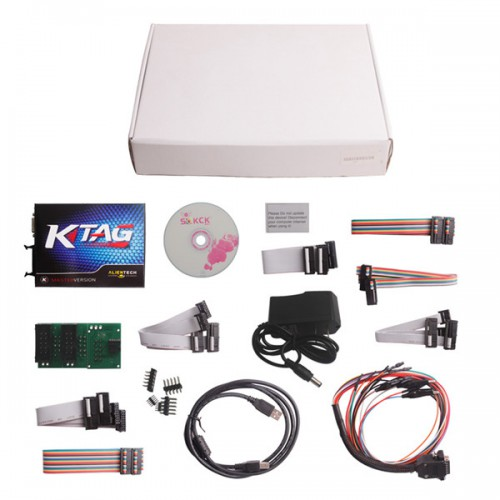 KTAG V2.10 ECU Programming Tool Master Version No Checksum Error