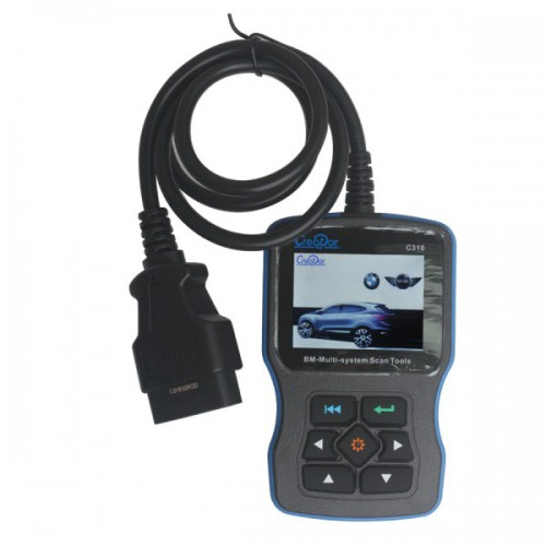[US Ship No Tax] Creator C310+ Code Scanner for BMW/Mini Multi System Scan Tool V8.0 Update Online
