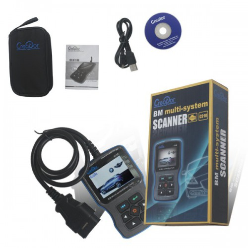 Creator C310+ Code Scanner for BMW/Mini Multi System Scan Tool V8.0 Update Online Free Shipping from US/AU/CA