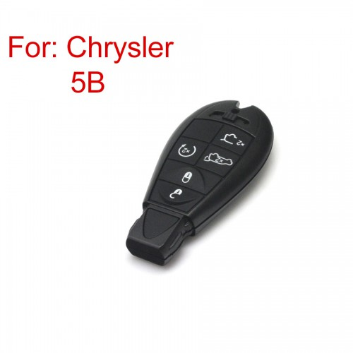 Smart Key Shell 5 Button for Chrysler New Release 5pcs/lot