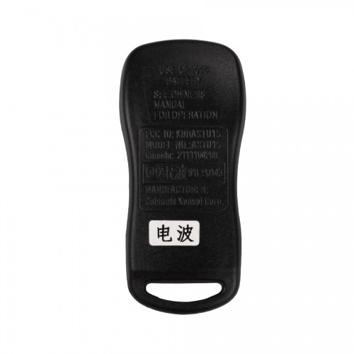 Remote 3 Button (315MHZ) For Nissan TIIDA 5pc/lot