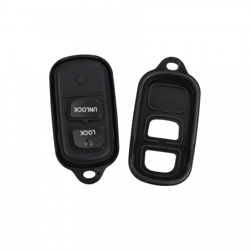 Remote Key Shell 2+1 Button For Toyota 5pcs