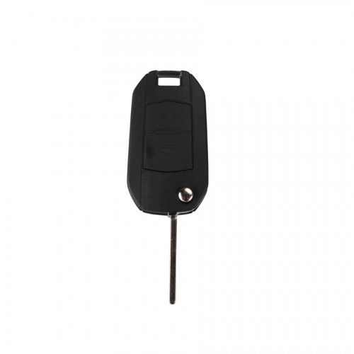 Modified Flip Remote Key Shell 2 Button (HU100) For Opel 5pcs/lot