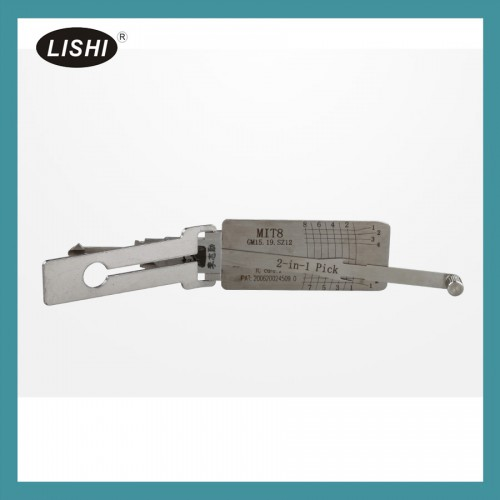 LISHI MIT8 (GM15 19) 2-in-1 Auto Pick and Decoder