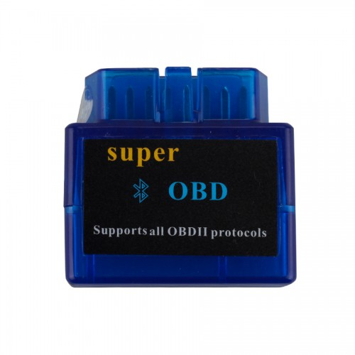 V2.1 Mini ELM327 ELM 327 OBD2 Bluetooth Interface Auto OBDII Diagnostic Scanner with One Year Warranty