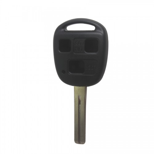 Remote Key Shell 3 Button TOY48(Short) Golden Brand for Lexus 5pcs/lot