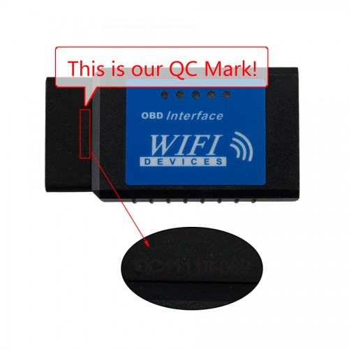 V1.5 ELM327 OBDII WiFi Diagnostic Wireless Scanner for Apple iPhone Touch