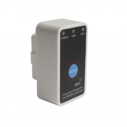 V1.5 Super Mini ELM327 WiFi With Switch Work With iPhone OBD-II OBD Can Code Reader Tool