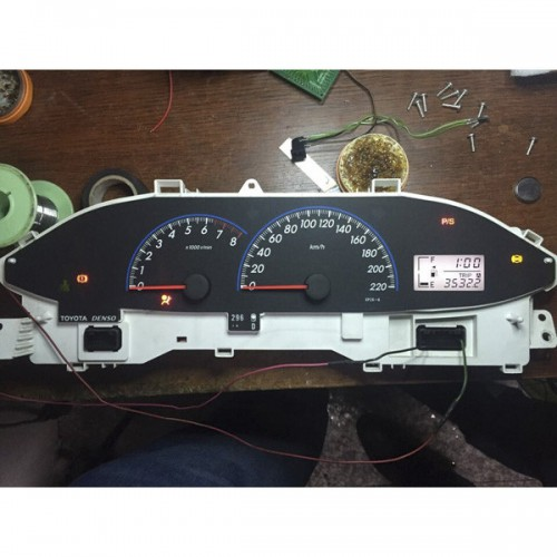 Dashboard LCD Screen Replacement for 2008-2012 Toyota VIOS