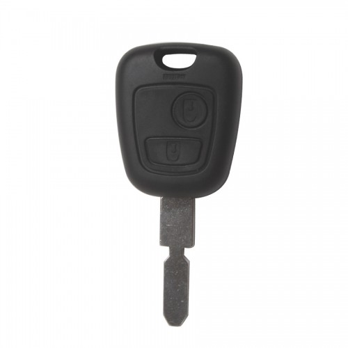 406 Remote Key Shell 2 Button (Without Logo) for Peugeot 10pcs/lot
