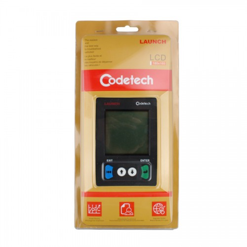 Launch X431 Codetech Pocket Code Scanner Support OBDII and Definitions