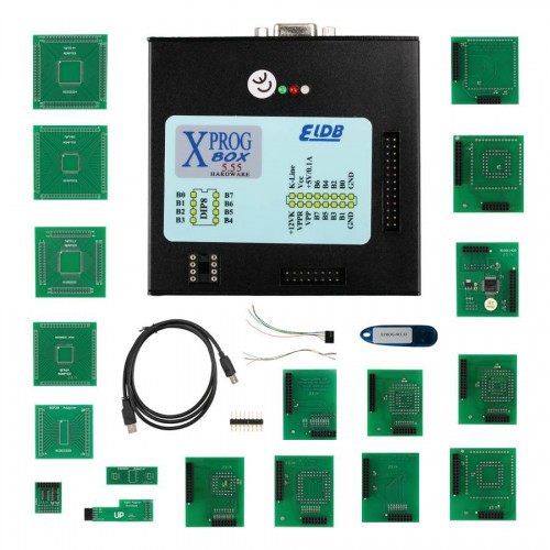 XPROG-M V5.55 XPROG M Programmer with USB Dongle Especially for BMW CAS4 Decryption Easy to Install Ship From US