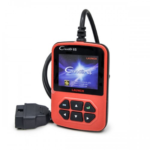 Original Launch X431 Creader VI Plus Creader 6S Code Reader EU/USA/Asian Version Update Online