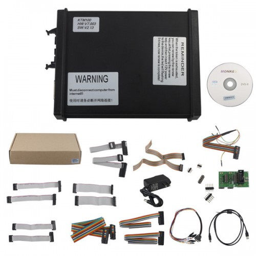 V2.13 FW V7.003 KTM100 KTAG ECU Programming Tool Master Version with Unlimited Token