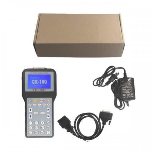 [US Ship No Tax] CK-100 Auto Key Programmer V99.99 Newest Generation SBB With 1024 tokens