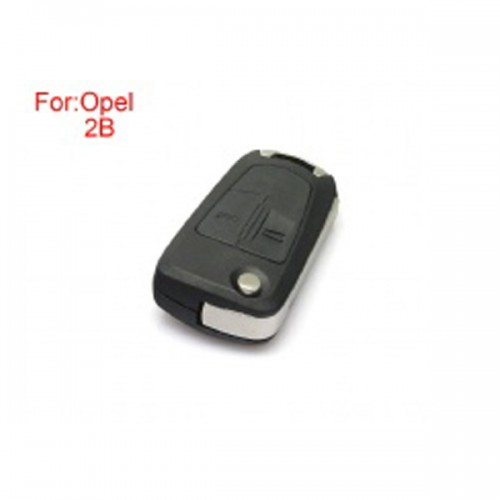 Remote Key Shell 2 Buttons for Opel Use for Original Board Size HU100 5pcs/lot