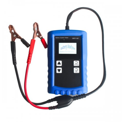 MST-168 Portable 12V Digital Battery Analyzer with Powerful Function