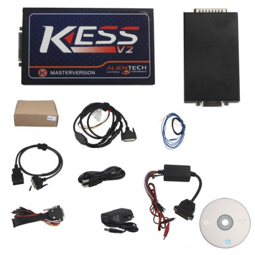 Truck Version KESS V2 Manager Tuning Kit Plus J-Link V8+ ARM USB-JTAG Emulator With KESS V2 Fix Chip
