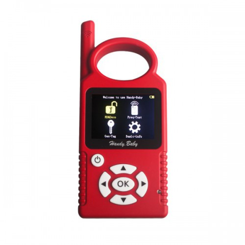 V9.0.2 Handy Baby Hand-held Car Key Copy Auto Key Programmer for 4D/46/48 Chips Support Multi-Languages