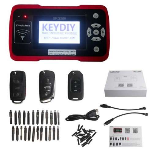 Keydiy URG200 Remote Maker Best Tool for Remote Control World with 1000 Tokens Replacement of KD900