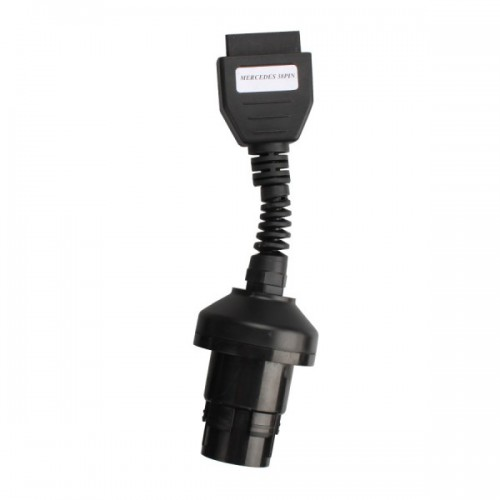 High Quality MB 38Pin to OBD2 Adaptor for BENZ with Golden Color PIN Needles