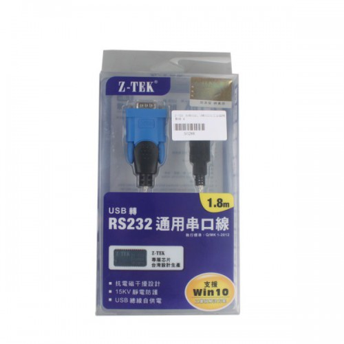 High Quality Z-TEK USB1.1 To RS232 Convert Connector