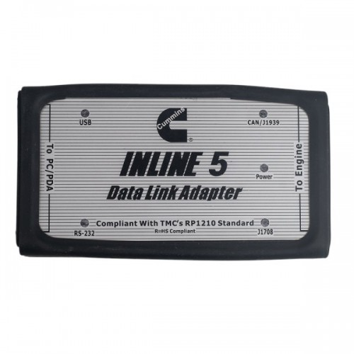 Inline 5 Insite 7.62  For Cummins With Multi Languages