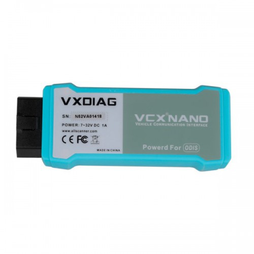 WIFI Version VXDIAG VCX NANO 5054 ODIS V4.3.3 Support UDS Protocol and Multi-language