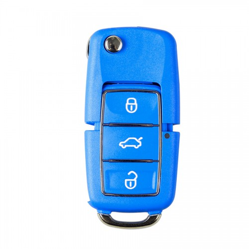 XHORSE Volkswagen B5 Style Color Special Remote Key 3 Buttons (Red, Yellow, Blue and Green) X001-02 X001-03 for VVDI key tool 5pcs/lot