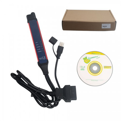 【Xmas Deals】V2.40.1 Scania VCI-3 VCI3 Scanner Wifi Diagnostic Tool Multi-language Support Win7/Win10