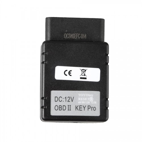Free Shipping TOYO KEY OBD II KEY PRO Support Toyota G & H All Key Lost Work with MINI CN900 & MINI ND900