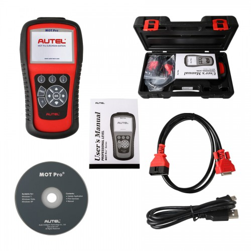 [Ship from US No Tax] Autel MOT Pro EU908 All System Diangostics+EPB+Oil Reset+DPF+SAS Multi Function Scanner