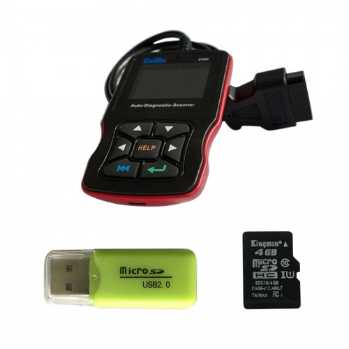 Newest Creator C500 Auto Diagnostic Scanner for OBDII / EOBD / BMW/ Honda/ Acura