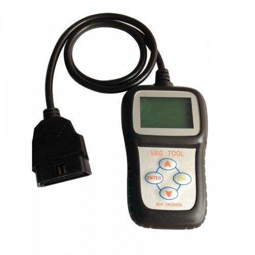 Black Mini VAG505A VAG Scanner Multi Language
