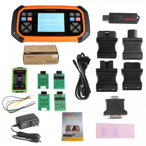 Promotion OBDSTAR X300 PRO3 X-300 Key Master with Immobiliser + Odometer Adjustment +EEPROM/PIC+OBDII+Toyota G & H Chip All Keys Lost