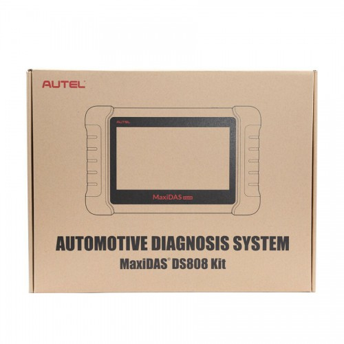 [US/UK Ship No Tax] Latest AUTEL MaxiDAS DS808 KIT Tablet Diagnostic Tool Full Set Support Injector & Key Coding Update Online